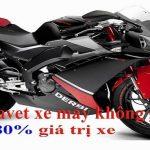 Cầm cavet xe máy không chính chủ giá cao